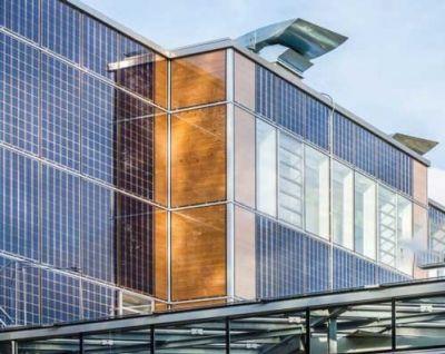 پنجره ها پنل های خورشیدی میشوند.