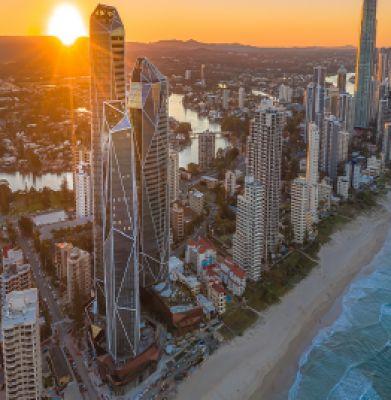 """مجموعه سه برجی """"جواهر"""" گلدکوست استرالیا"""