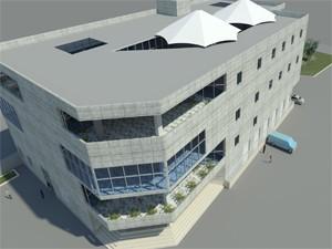 طراحی پروژه مجتمع خدماتی رفاهی شهرک شهید بهشتی