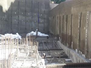 نظارت بر اجرای تاپ دان پروژه برج مسکونی شقایق 2