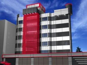 طراحی ساختمان ستاد اجرایی فرمان امام
