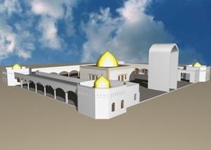 طراحی پروژه مجموعه امامزاده هاشم
