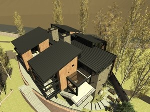 طراحی پروژه ویلای مسکونی شهریار